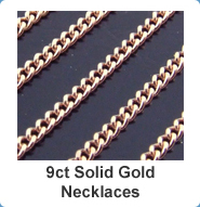 9ct Solid Gold Necklaces